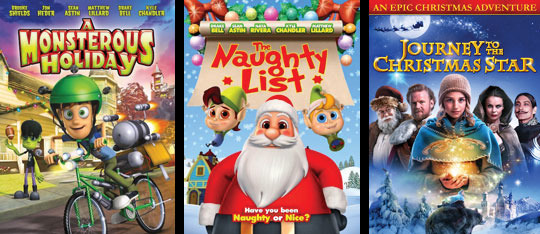 The Naughty List Holiday DVD Pack Giveaway!