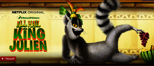 All Hail King Julien T-Shirt & Netflix Subscription Giveaway!