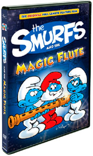 The Smurfs and The Magic Flute on DVD August 14!