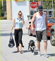 Miley and Liam Adopt New Puppy!