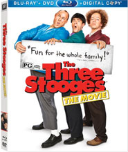 The Three Stooges Hit Blu-ray + DVD July 17!