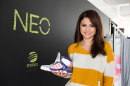Selena's New Shoes!