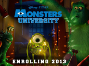 MONSTERS UNIVERSITY First Look!