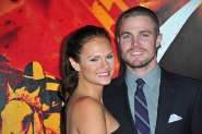 Stephen Amell and Cassandra Jean: Hitched!