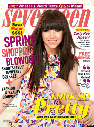 Carly Rae Jepsen: Seventeen Cover Girl