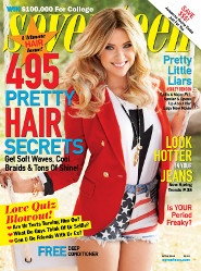 Ashley Benson: Seventeen Cover Girl