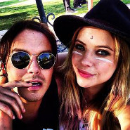 Coachella Cuties: Ashley Benson and Tyler Blackburn!