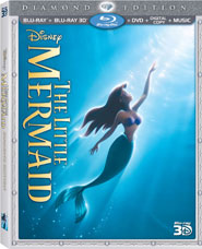 The Little Mermaid: Diamond Edition Box Art Reveal!