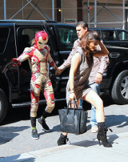 Jaden Smith and Kylie Jenner: Iron Man Date