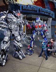 Transformers:  The Ride-3D vs. King Kong 360 3-D!