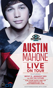 AUSTIN MAHONE ANNOUNCES 2013 HEADLINING TOUR!