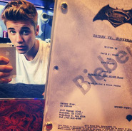 Justin Bieber in Batman Vs. Superman?