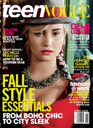 Demi Lovato: Teen Vogue Cover Girl