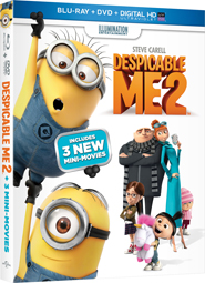 Despicable Me 2 on Blu-ray 12/10 & Bonus Sneak Peek!
