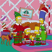 Sneak Peek: THE SIMPSONS Christmas Opening Couch Gag!