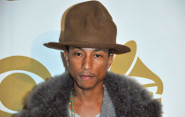 Pharrell Auctions Grammy Hat