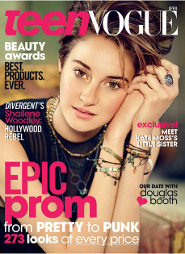 Shailene Woodley: Teen Vogue April Edition