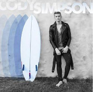 Cody Simpson: Surfboard and Stars