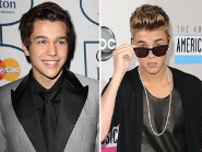 Austin Mahone and Justin Bieber: Studio Time