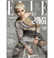 Tavi Gevinson Interviews Miley for Elle!