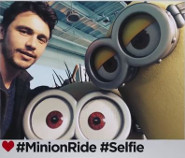 James Franco: Despicable Me Ride