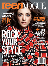 Lorde: Wrapped to go for Teen Vogue!