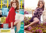 Anna Kendrick: Elle Cover Girl
