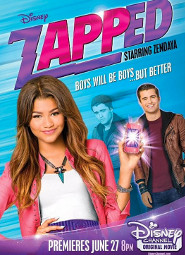 ZAPPED PREMIERES ON DISNEY TONIGHT!