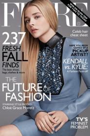 Chloe Moretz: Flare Cover Girl