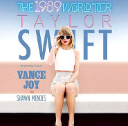 Taylor Swift: 1989 World Tour Annouced!