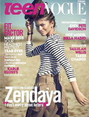 Zendaya: Teen Vogue Cover Girl!