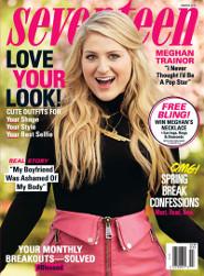 Meghan Trainor: Seventeen Magazine Cover Girl!