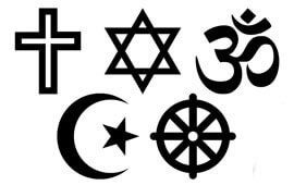 Religious signs poll