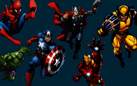 Marvel superhero poll