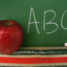 Alphabet chalkboard