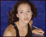 Jessica Alba is from an Air Force family. Because of this, she moved 12 times when she was young.