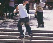 Skateboarding trivia.