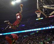 A high-flying slam dunk.