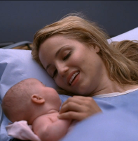 Quinn and her Baby
