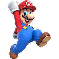 The original video game hero: Super Mario!