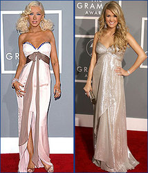 Kidzworld's picks for best dressed are Christina Aguilera and Carrie Underwood!