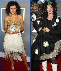 Kidzworld's picks for worst dressed are Nelly Furtado and Imogen Heap!