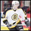 Boston Bruins hockey jersey.