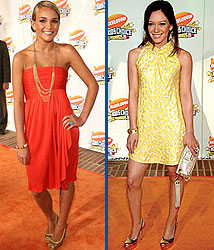 Kidzworld's picks for best dressed are Jamie Lynn Spears and Hilary Duff!