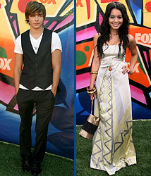 Kidzworld's picks for best dressed are HSM's star couple, Zac Efron and Vanessa Hudgens!