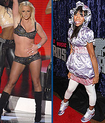 Kidzworld's picks for worst dressed are Britney Spears and Lil Mama!