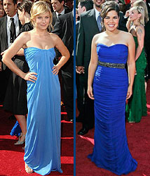 Kidzworld's picks for best dressed are Kristen Bell and America Ferrera!