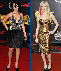 Kidzworld's picks for worst dressed are Rihanna and Avril Lavigne!