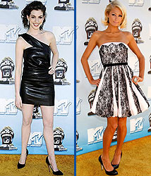 Kidzworld's picks for best dressed are Anne Hathaway and Paris Hilton!