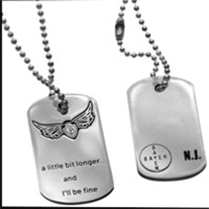 Nick Jonas Dog Tags